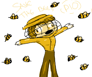 SAVE THE BEES PIO