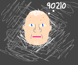 Old man thinks of 90210 (number, not the show)