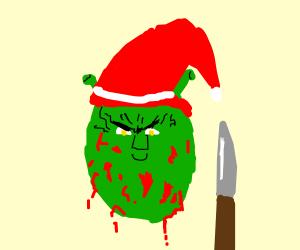 shrek as santa killer