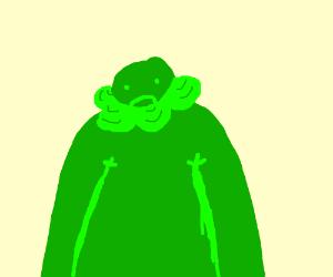 Green bearded guy