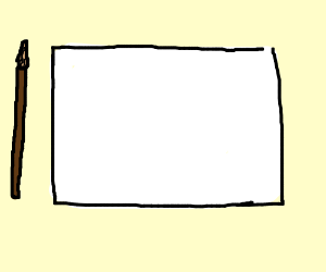 A blank drawing