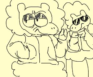 Gangster Sheep