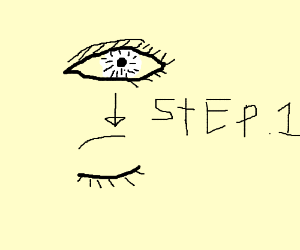 Step 1: Blink