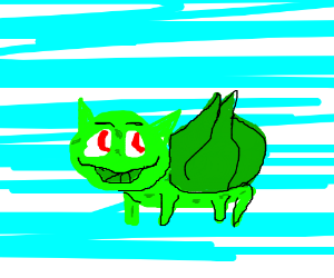 Smiling Bulbasaur