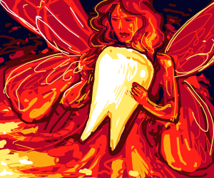 Volcanic Tooth Fairy