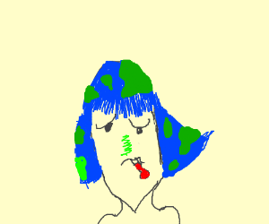 Earth-chan is sick...
