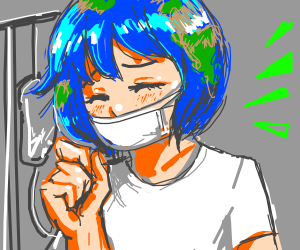 Earth-Chan is Sick