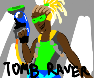 Tomb Raider: This Time With Lucio