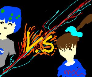 EARTH-CHAN VS. MONIKA