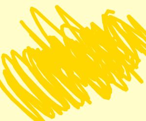 Yellow scribbles