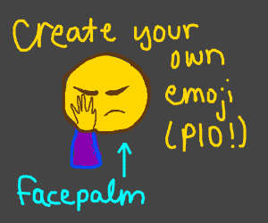 invent your own emoji pio