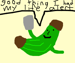 green banana cant get up