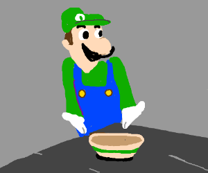 Somebody touched Weegee's Spaghetti