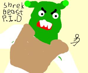 Shrek Beast P.I.O