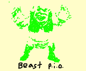 Make up an ultra beast PIO