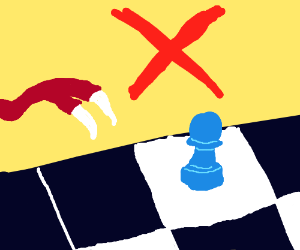 Trex cant play chess