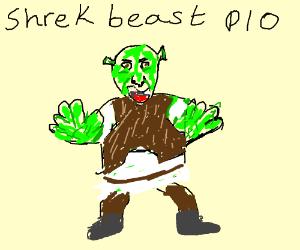 Shrek beast PIO