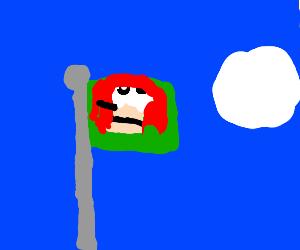 Uganda Knuckles flag
