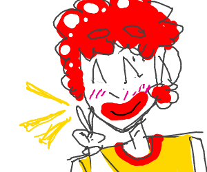 how to draw a mcdonalds