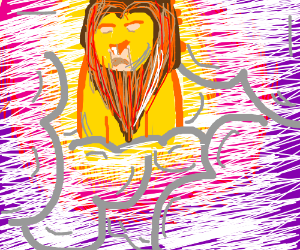 Mufasa in the sky