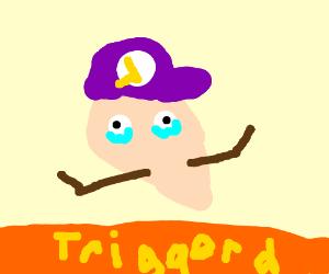 Waluigi is triggered