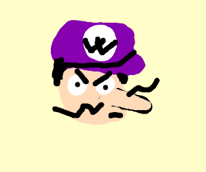 expected africa? TOO BAD! WALUIGI TIME!