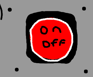 stop on off button