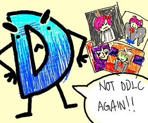 The end of DDLC left Drawception HANGING