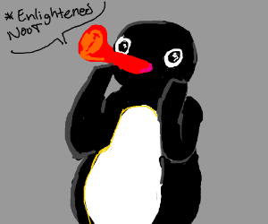 Pingu reaches enlightenment
