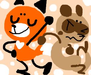 Fox VS Ferret
