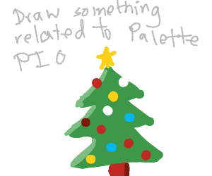 Draw Something Related to Palette PIO
