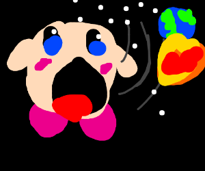kirby consumes the entire universe