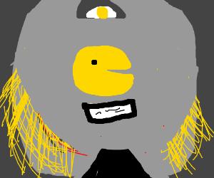 The legendary Golden mask of pecman