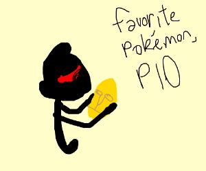 fav pokemon p.i.o