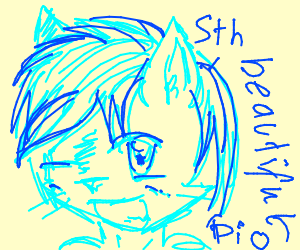 Draw something beautiful PIO (pass it on)