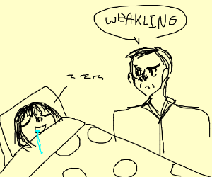 Angry Man Calls Sleeping Kid A Weakling