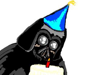 happy birthday darth vader