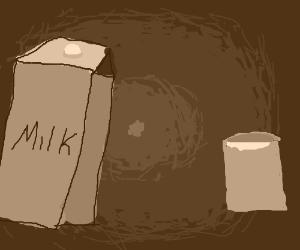 Milk (Mik?) Carton
