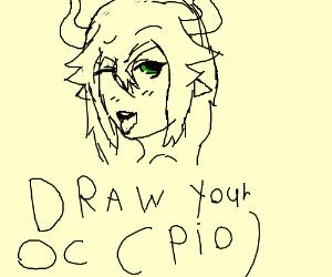 Miss Swag the OC (draw ur oc pio? idk)