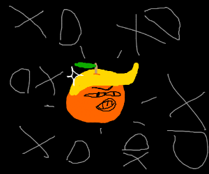 trump as orange xd