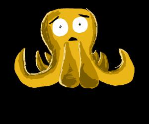 panicked octopus