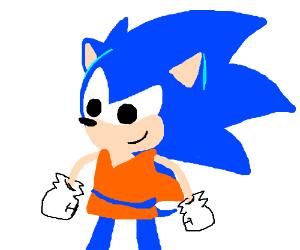 Sonic is Goku
