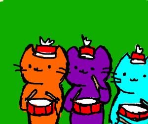 VRChat Cat Parade - Drawception