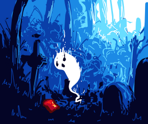 ghost amazed to find bread