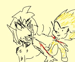 Super Sonic has been beheaded