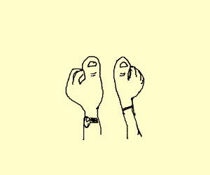 Clubbed Thumbs (look it up)