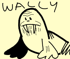 Wally the walrus