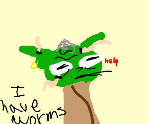 Yoda has a serious worm problem