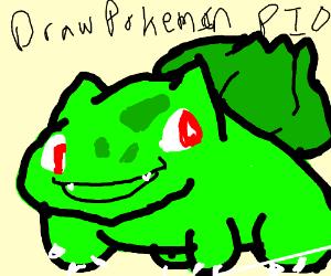 draw pokemon and pio