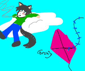 Catboy is higher than a kite.